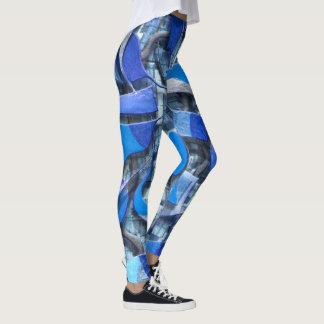 Legging Remos e lemes (azuis)