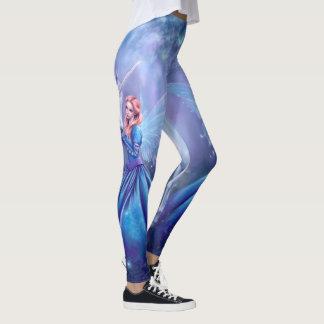 Legging Rhiannon - fada do unicórnio e da borboleta