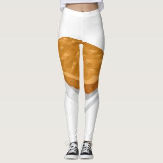 Legging Rissol da batata da comida do pulso aleatório
