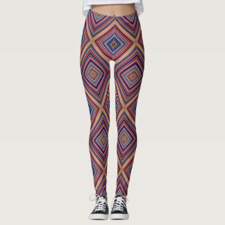 Legging Simetric, colourfull, caneleiras