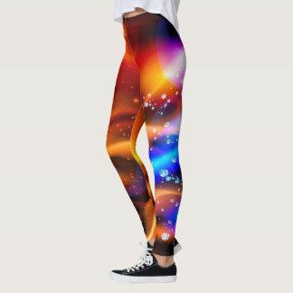 Legging Sistema abstrato da galáxia