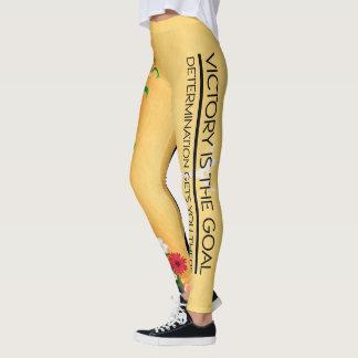 Legging Slogan SUPERIOR da vitória da ginástica