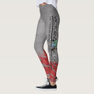 Legging Slogan SUPERIOR da vitória da trilha