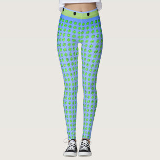 Legging STREET-WEAR-Stone-AgeMOD_Blue-Lime LEGGING'S_XS-XL