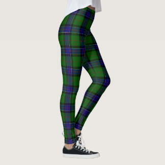 Legging Tartan de Sinclair do clã