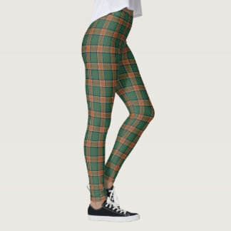 Legging Tartan escocês do Pollock do clã