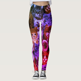 Legging Tesouros do eterno dos gatos
