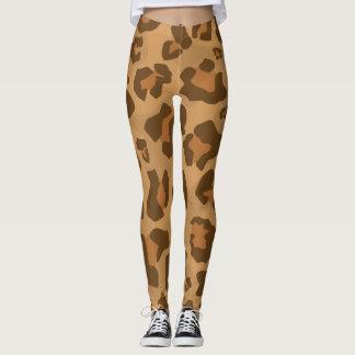 Legging Teste padrão do puma de Jaguar do puma da chita do
