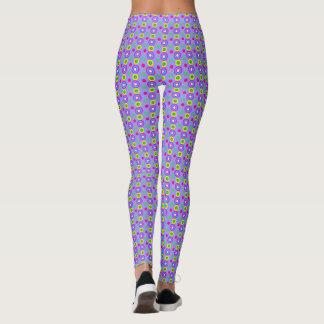 Legging Teste padrão geométrico decorativo