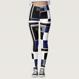 Legging Teste padrão quadrado