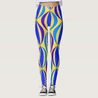 Legging Teste padrão retro