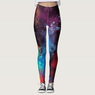Legging Textura multicolorido