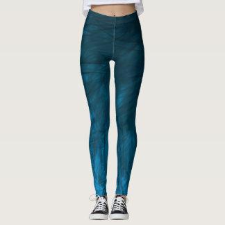Legging Texture1 cianos - Caneleiras