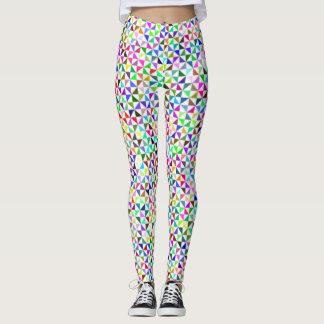 Legging Triângulos modernos Funky Multicolour