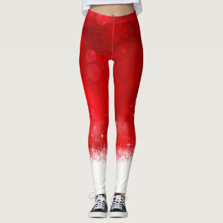 Legging Vermelho do Natal