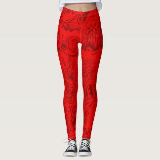 Legging Vermelho Ir