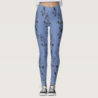 Legging videiras do azul