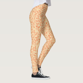 Legging Videiras Tangled laranja