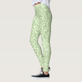 Legging Videiras Tangled verde