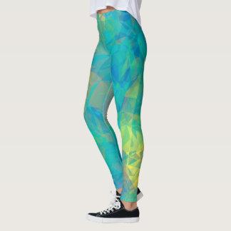 Legging Vidro azul