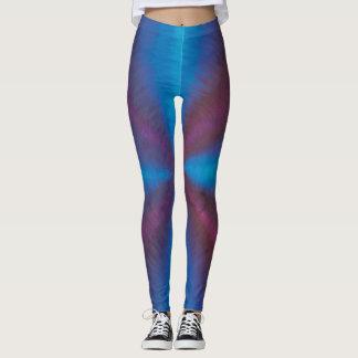Legging Vortex roxo & azul