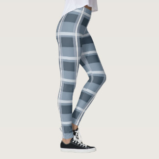 Legging Xadrez azul