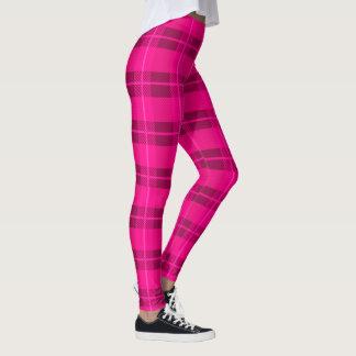 Legging Xadrez cor-de-rosa da páscoa