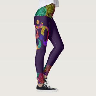 Legging Yoga Boho OM