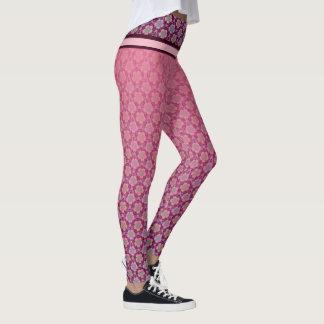 Legging Yoga Lotus purpur