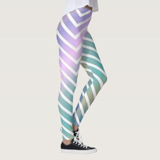 Legging Ziguezagues do arco-íris