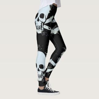leggings com caveira customizável