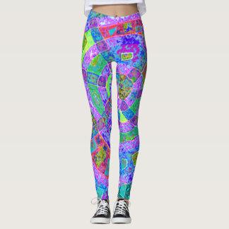 Leggins coloridos surpreendentes legging
