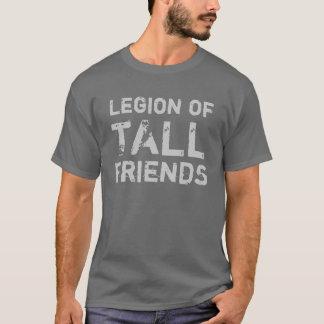Legião de amigos altos camiseta