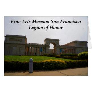 Legião de San Francisco de cartão da honra