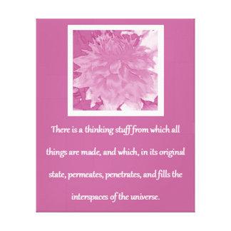 Lei de citações da atração - dália da ameixa