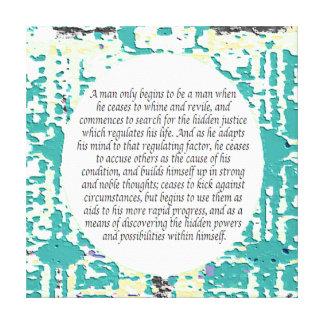 Lei de citações da atração impressão em tela