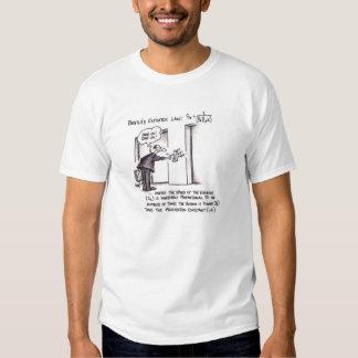 Lei do elevador de Bentley T-shirts