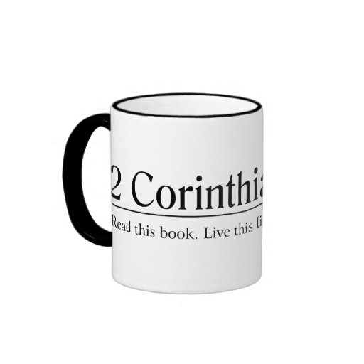 Leia o 4:15 dos Corinthians da bíblia 2 Canecas