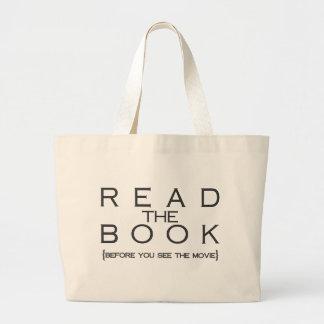 Leia o livro sacola tote jumbo