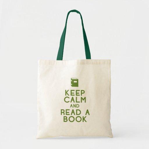 Leia um livro bolsa para compras