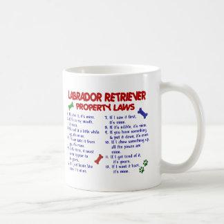 Leis da propriedade de LABRADOR RETRIEVER Caneca De Café