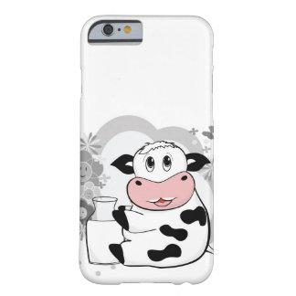Leite de bebendo da vaca capa barely there para iPhone 6