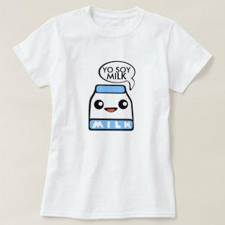 Leite de soja de Yo T-shirts