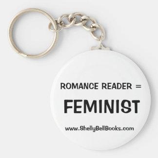Leitor romance = chaveiro feminista