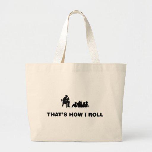 Leitura aos miúdos bolsas para compras