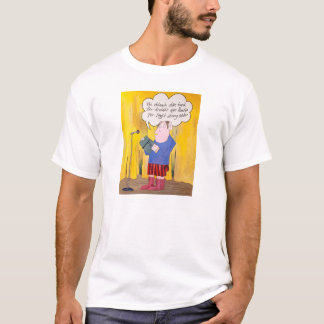 Leitura da poesia, t-shirt branco do no. 1 camiseta