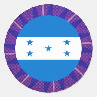 Lembrança da bandeira do Honduran Adesivo