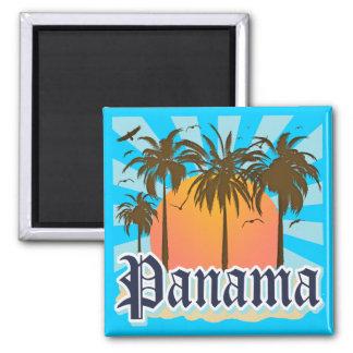 Lembrança da Cidade do Panamá Imãs De Geladeira