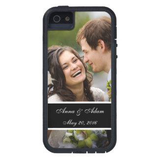 Lembrança da foto do casamento capas para iPhone 5