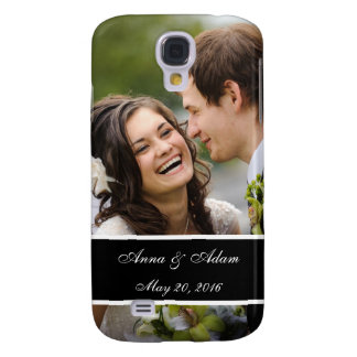 Lembrança da foto do casamento galaxy s4 case
